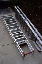 Qty~2 Werner PT310 Step Ladder HD Aluminum Safety Guard Platform Craft