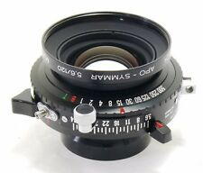 Schneider 120mm f/5.6 Apo Symmar MC lens in Copal 0 MINT