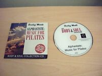 BODY & SOUL COLLECTION ALPHASTATE MUSIC FOR PILATES or Yoga Chillout Album CD
