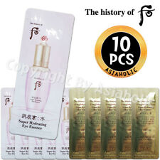 The history of Whoo Super Hydrating Eye Essence 1ml x 10pcs (10ml) Soo yeon New