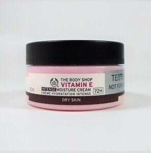 The Body Shop Vitamin E Intense Moisture Cream Dry Skin 72H / 50 ml *NEW TST*