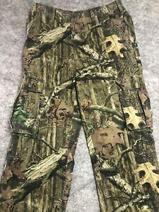 MOSSY OAK Break Up Infinity Men's Sz L 36-38 Camo Cargo Hunting Pants 36x27