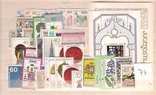 1977 MNH yearset/jaargang Bundespost, Bund, BRD, germany, Postfris