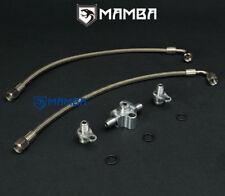 MAMBA BMW N54 3.0L 135i 335i 535i twin TD03 PTFE turbo oil feed line kit replace