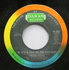 Soul 45 The Sound Of Chicago - We Got A Love No One Can Deny / You Keep Me Holdi