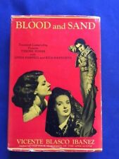 BLOOD AND SAND - FIRST AMERICAN PHOTOPLAY EDITION BY VICENTE BLASCO IBANEZ