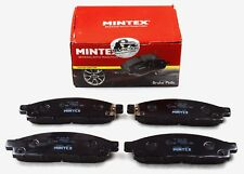 MINTEX FRONT AXLE BRAKE PADS FOR FIAT MITSUBISHI MDB2882 (REAL IMAGE OF PART)
