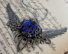 xxl Amulett fairy steampunk gothic nugoth walküre valkyrie nugoth larp restyle