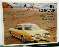 1965 Chevrolet Corvair Corsa Monza 500 Color Sales Brochure ORIGINAL