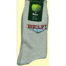 OFFICIAL LICENSED - THE BEATLES - HELP! GREY MENS SOCKS SIZE 7/11