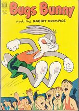 BUGS BUNNY  #432  1952  -THE RABBIT OLYMPICS  VG  FUNNY ANIMALS DELL 4-COLOR