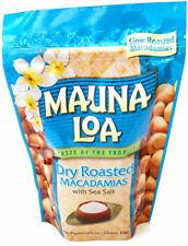 DRY ROASTED MAUNA LOA MACADAMIA NUTS 10 OZ BAG