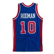 Detroit Pistons Dennis Rodman Mitchell Ness Blue 1988-89 HWC Swingman Jersey NBA