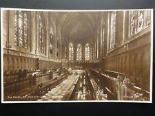Cambridge: THE CHAPEL, ST. JOHN'S COLLEGE Old RP Postcard By Walter Scott 140515
