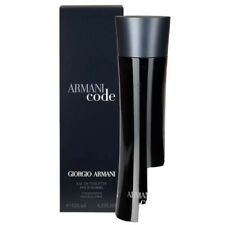 Giorgio Armani Code Homme 125 ml Eau de Toilette Neu & Ovp EdT-Spray für Herren