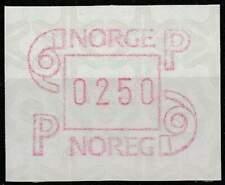 Noorwegen postfris automaatzegels 1986 MNH A3 (04)