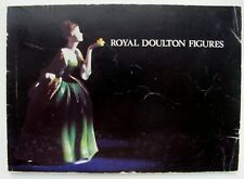 Royal Doulton Figures Catalog Printed in England 1971 - 79 pages with Index