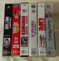 Bulk VHS Lot - 6 Classic Eddie Murphy Titles: Metro, BowFinger, Trading Places++