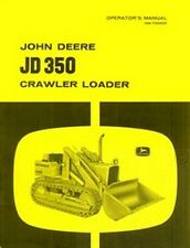 John Deere JD 350 Crawler Loader Operators Manual JD