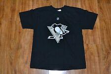 Pittsburgh Penguins Kris Letang Jersey T Shirt Youth Small Reebok NHL Nice
