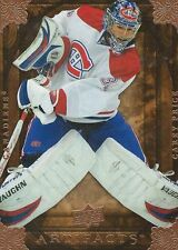 Carey Price 2008 NHL Upper Deck Artifacts Trading Card #46 Montreal Canadiens