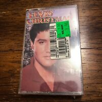 Elvis Presley 'Elvis' Christmas' Cassette 🔥 1995, BMG * NEW & SEALED!
