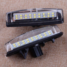 Pair for Toyota Camry Prius Lexus White 18LED License Number Plate Light Lamp