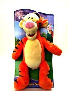 "Disney Tigger Beanz Plush Winnie the Pooh Stuffed Animal 11"" Tall"