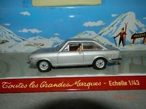Miniature FIAT 124 Sport Coupé au 1/43 de chez Starline Modèls