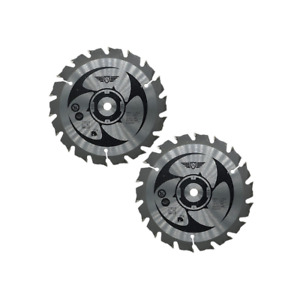 2 piece Circular Saw Blade for Ryobi CS15018T_2 150mm 18T 10mm Bore TCT CSB150A1