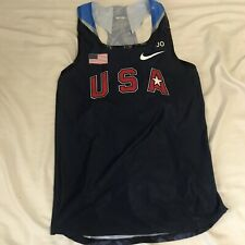 Nike 2011 USA Track and Field Running Singlet Mens Size Small Pro Elite Distance