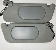 2003-2005 MERCURY MOUNTAINEER FORD EXPLORER GRAY Cloth LIGHTED Sun Visors OEM
