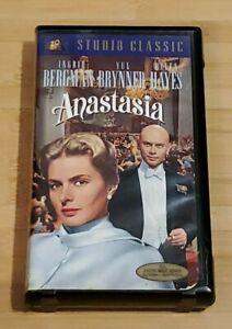 Anastasia starring Ingrid Bergman, Helen Hayes, Yul Brynner (VHS) Pre-owned