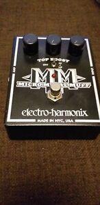 Electro Harmonix Micro Metal Muff Guitar Pedal