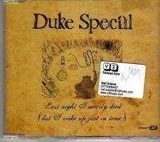 (CT906) Duke Specal, Last Night I Nearly Died - 2006 DJ CD