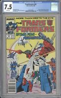 Marvel Comics TRANSFORMERS #42 CGC 7.5 VF (1988) White Pages