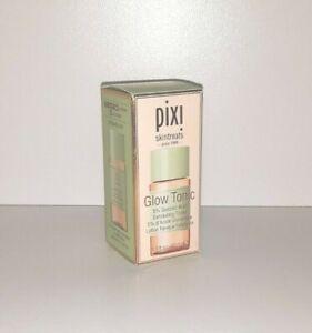 Brand NEW Pixi Skintreats Glow Tonic 5% Glycolic Acid Exfoliating Toner 1.3 oz.