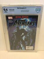 Dark Avengers #1 CBCS 9.4 1st full appearance of Dark Avengers, Iron Patriot