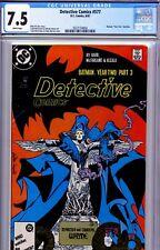Detective Comics 577 CGC 7.5 VFine. 8/87 Batman Year Two # 3. Tod McFarlane Art