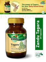 Zandu Tagara Sleep Relaxant, Stress Management, Relaxing Nerves, 60 Capsules
