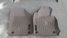 WeatherTech Molded Floor Liners Tan For VW EOS 2009 Front Row 2 Pieces