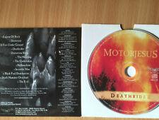 "MOTORJESUS-""DEATHRIDER"" -RARE PROMO ONLY SPANISH METAL CD 2006-NEW"