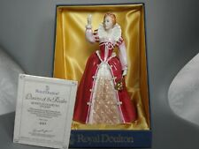 ROYAL DOULTON ~ QUEEN ELIZABETH I ~ HN 3099 ~ QUEENS OF THE REALM ~BOXED~LTD ED
