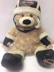 "2007 Harley-Davidson 18"" Jumbo Plush Brown Teddy Bear"