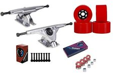 "Cal 7 Longboard Flywheel 10.75"" Axle Truck Bearing 90mm Skateboard Wheels"