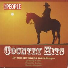 COUNTRY HITS - PROMO CD (2006) JOHNNY CASH, FRANKIE LAINE, HANK WILLIAMS ETC