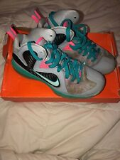 a71fa2fa5195 Nike Lebron 9 South Beach Size 5 Kids