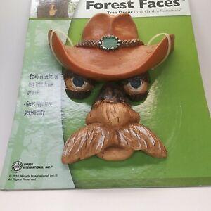 original Buck Cowboy FOREST FACES TREE PEOPLE by GARDEN SENSATIONS - NEW unused