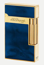 S.T. Dupont Ligne 2 Dark Blue Atelier Lighter, 16134 (016134), New In Box