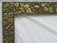 "ANTIQUE FITS 12.25"" X 17.25""  GOLD GILT ORNATE WOOD FRAME FINE ART VICTORIAN"